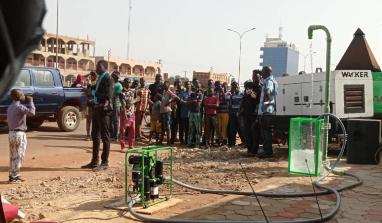 Futurepump: Une innovation dans l'irrigation au Burkina