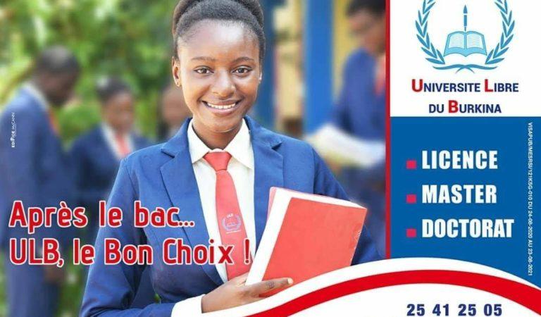 Journée d'orientation Université Libre du Burkina( ULB) 2021